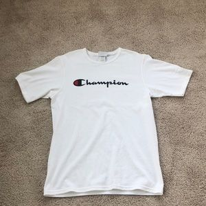 White Champion T-Shirt